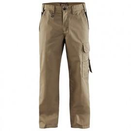 Pantalon industrie - 2499 Beige/Noir - Blaklader