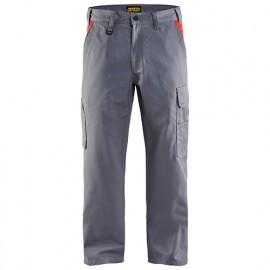 Pantalon industrie - 9456 Gris/Rouge - Blaklader