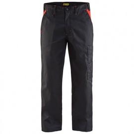 Pantalon industrie - 9956 Noir/Rouge - Blaklader