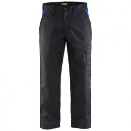 Pantalon industrie - 9985 Noir/Bleu roi - Blaklader