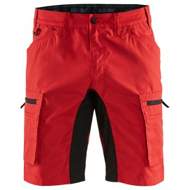 Short service stretch - 5699 Rouge/Noir - Blaklader