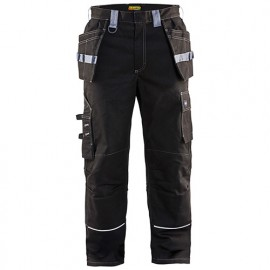Pantalon artisan retardant-flamme ignifugé - 9994 Noir/Gris - Blaklader