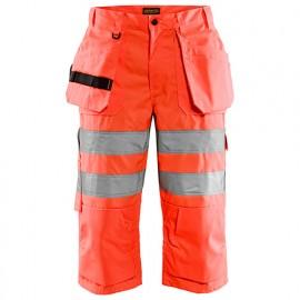 Pantalon pirate Haute-Visibilité - 5500 Rouge fluo - Blaklader