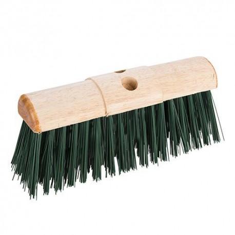 Balai à poils PVC, dos arrondi 330 mm - 598529 - Silverline