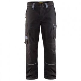 Pantalon retardant-flamme ignifugé - 9994 Noir/Gris - Blaklader