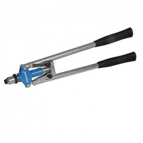 Pince à riveter manuelle à poignées longues L. 425 mm - 598535 - Silverline