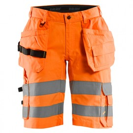 Short haute-visibilité stretch - 5300 Orange fluo - Blaklader