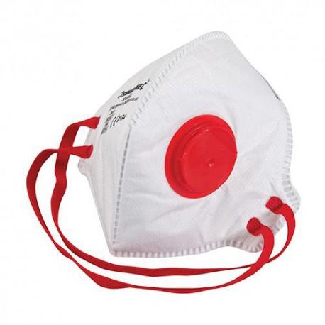 Masque respiratoire pliable à valve FFP3 NR - 598550 - Silverline