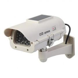 Caméra de surveillance factice solaire avec LED - 614458 - Silverline