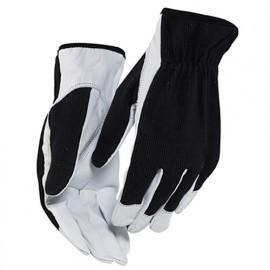 Gants artisan cuir - pack x 12 - 9910 Noir/Blanc - Blaklader
