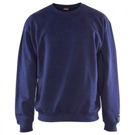 Sweat-shirt retardant-flamme ignifugé - 8900 Marine - Blaklader