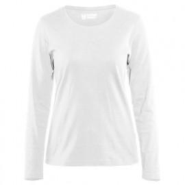 T-shirt manches longues femme - 1000 Blanc - Blaklader