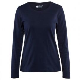 T-shirt manches longues femme - 8900 Marine - Blaklader