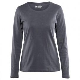 T-shirt manches longues femme - 9400 Gris - Blaklader