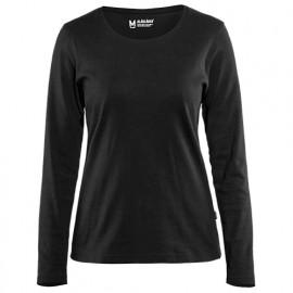 T-shirt manches longues femme - 9900 Noir - Blaklader