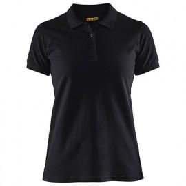 Polo femme - 9900 Noir - Blaklader
