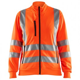 Sweat zippé haute-visibilité femme - 5300 Orange fluo - Blaklader