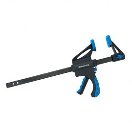 Serre-joint à serrage rapide usage intensif L. 450 mm - 633458 - Silverline