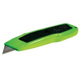 Cutter fluo Expert à lame rétractable 150 mm - 633460 - Silverline