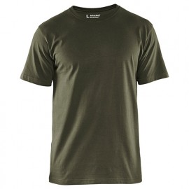 T-Shirts pack x 5 - 4600 Vert armée - Blaklader