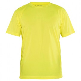 T-shirt technique anti-UV - 3300 Jaune fluo - Blaklader