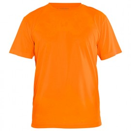 T-shirt technique anti-UV - 5300 Orange fluo - Blaklader