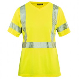 T-shirt haute-visibilité femme - 3300 Jaune fluo - Blaklader