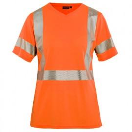 T-shirt haute-visibilité femme - 5300 Orange fluo - Blaklader