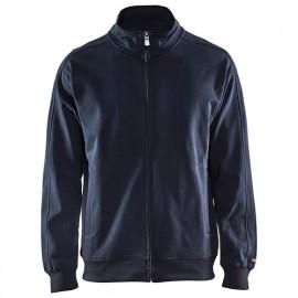 Sweat zippé - 8600 Marine foncé - Blaklader