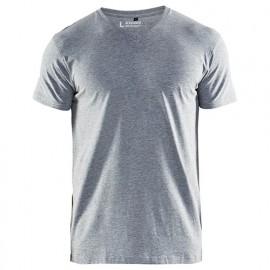 T-shirt col V - 9000 Gris - Blaklader