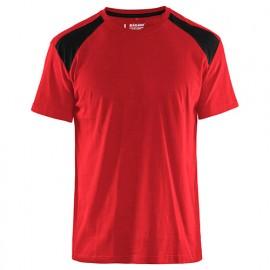 T-shirt - 5699 Rouge/Noir - Blaklader