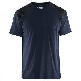 T-shirt - 8699 Marine foncé/Noir - Blaklader