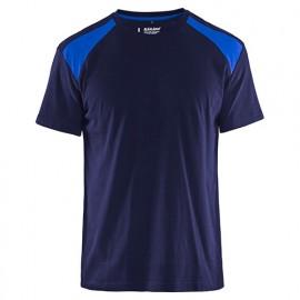 T-shirt - 8885 Marine/Bleu roi - Blaklader