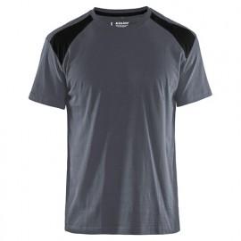 T-shirt - 9499 Gris/Noir - Blaklader