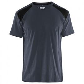 T-shirt - 9899 Gris Foncé/Noir - Blaklader