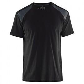 T-shirt - 9998 Noir/Gris Foncé - Blaklader