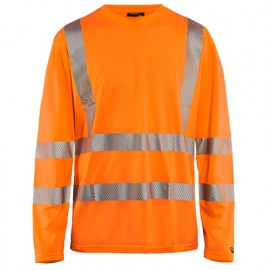 T-shirt anti-UV haute-visibilité - 5300 Orange fluo - Blaklader