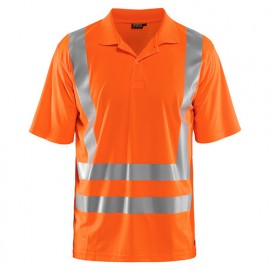 Polo anti-UV Haute-visibilité - 5300 Orange fluo - Blaklader