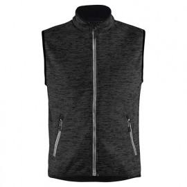 Gilet sans manches tricoté - 9710 Gris Anthracite/blanc - Blaklader