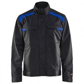 Veste Industrie - 9985 Noir/Bleu roi - Blaklader