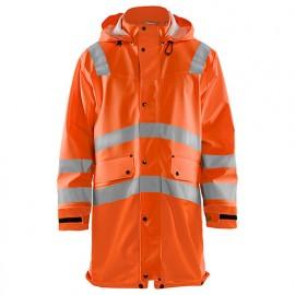 Manteau de pluie haute-visibilité niveau 2 - 5300 Orange fluo - Blaklader
