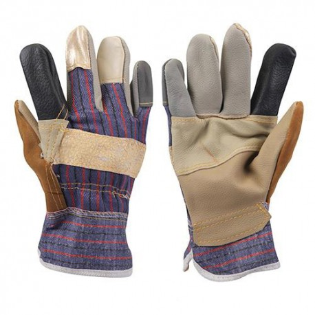 Gants de dockers patchwork Large - 633603 - Silverline