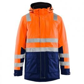 Parka haute-visibilité - 5389 Orange fluo/Marine - Blaklader