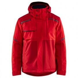 Veste hiver stretch 2D - 5658 Rouge/rouge foncé - Blaklader