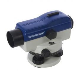Niveau optique de chantier automatique laser avec grossissement jusqu'à 20 fois - 633665 - Silverline