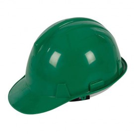 Casque de sécurité Vert - 633676 - Silverline