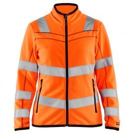 Veste micropolaire haute-visibilité femme - 5300 Orange fluo - Blaklader