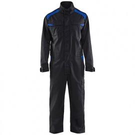 Combinaison Industrie manches longues - 9985 Noir/Bleu roi - Blaklader