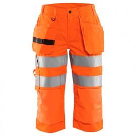 Pantacourt haute-visibilité femme - 5300 Orange fluo - Blaklader
