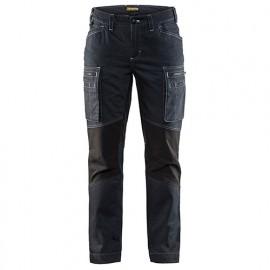 Pantalon service stretch femme - 8999 Marine/Noir - Blaklader